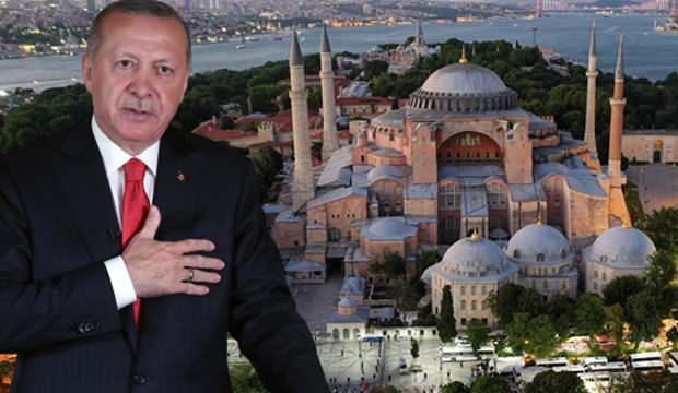 İran, Rusya ve Almanya'dan Ayasofya açıklaması! Dünyaya Türkiye mesajı