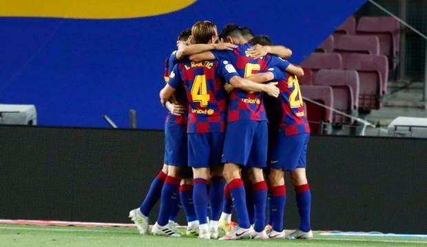 Barcelona kazandı Espanyol küme düştü