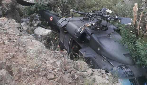 Bingöl'de faciadan dönüldü! Askeri helikopterden zorunlu iniş