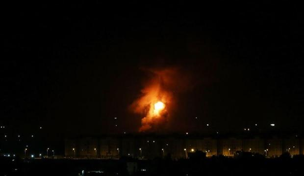 Terör devletinden Gazze'ye hava saldırısı!