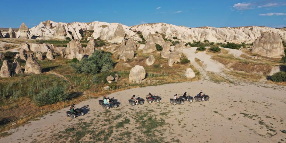 Kapadokya yabancı turistleri ağırlıyor
