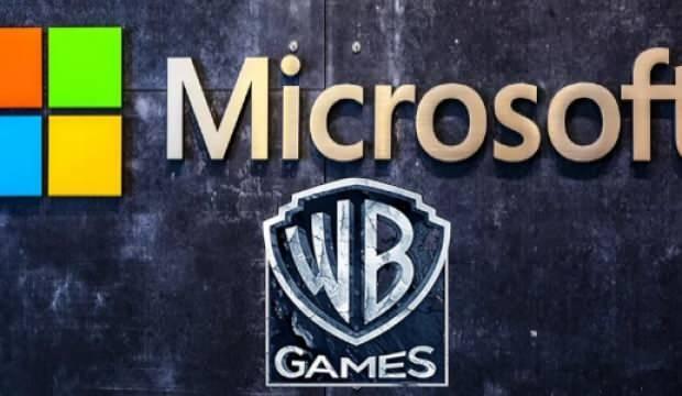 Microsoft Warner Bros'un oyun birimine talip oldu