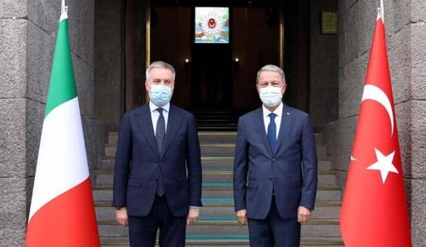 Milli Savunma Bakanı Hulusi Akar'dan önemli görüşme