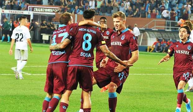 Trabzonspor'dan bir sezonda 110 gol