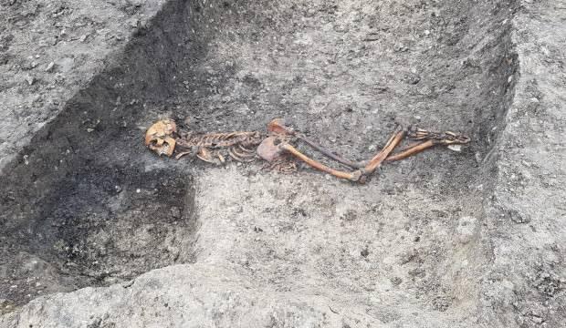 Tren kazısı 2 bin 500 yıllık cinayeti ortaya çıkardı