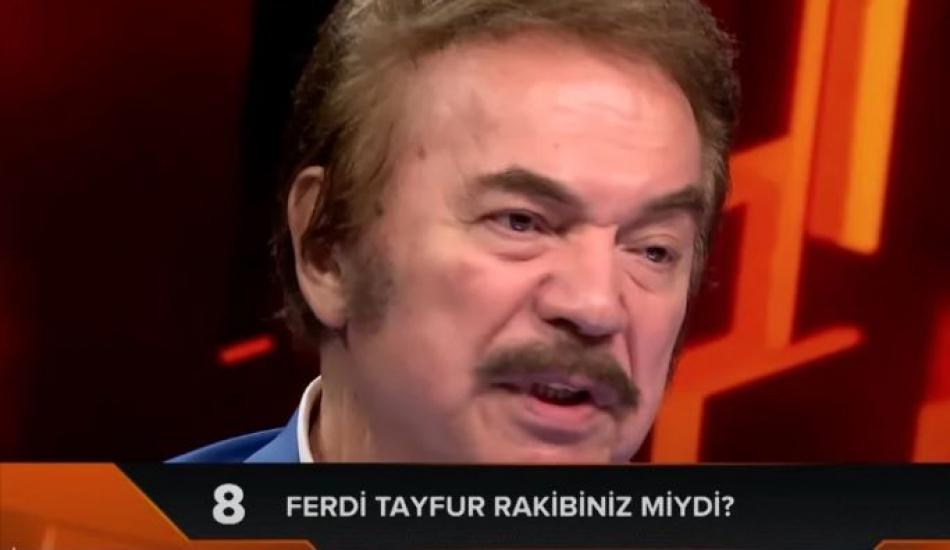 Usta sanatçı Orhan Gencebay'dan dikkat çeken Ferdi Tayfur cevabı!