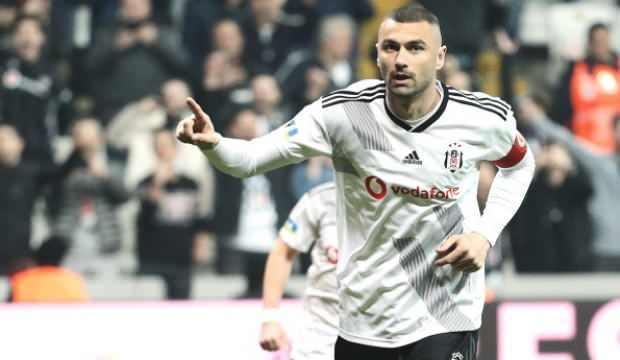 Beşiktaş'ta Burak Yılmaz sevinci