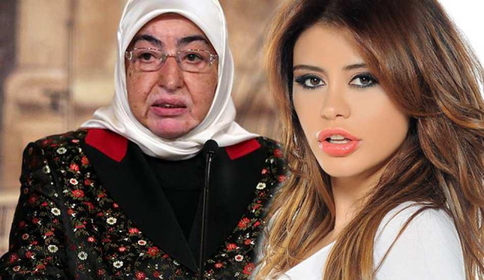 Ebru Polat'tan Binali Yıldırım'ın eşi Semiha Yıldırım'a destek!