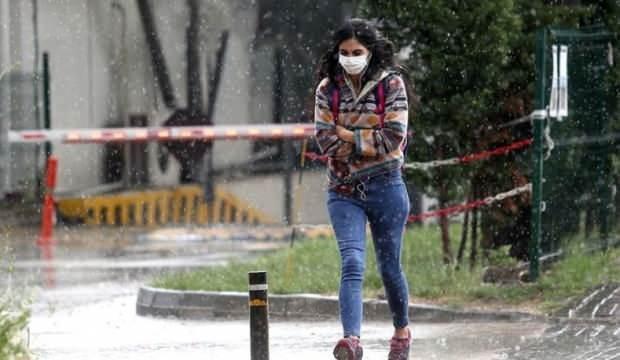 Meteoroloji'den sağanak yağış ve sıcaklık uyarısı
