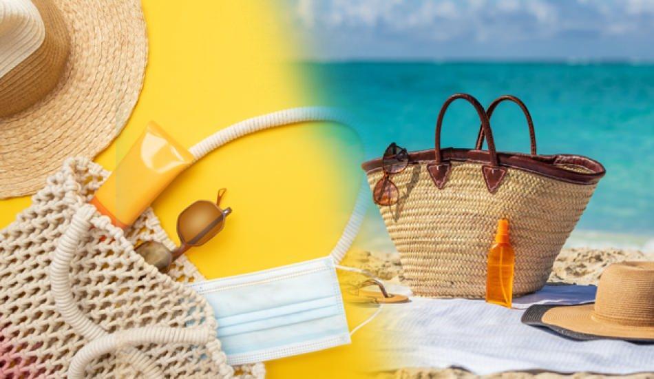 Plaj çantasına ne koyulur? Plaj çantasında olması gereken kozmetik ürünler