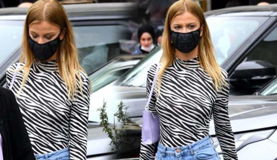 Sunucu Aslı Turanlı 1.650 TL'lik maske takıyor