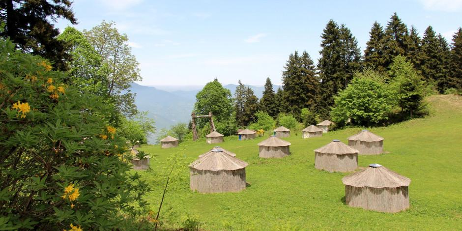 Türk oba kültürünün yaşatıldığı kamp merkezi