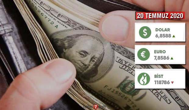 20 Temmuz 2020 Dolar kaç TL oldu? Dolar Euro Sterlin güncel alış satış fiyatı!