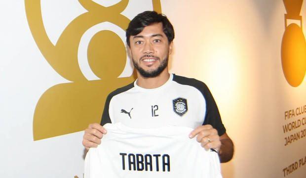 39 yaşındaki Tabata transfer oldu!