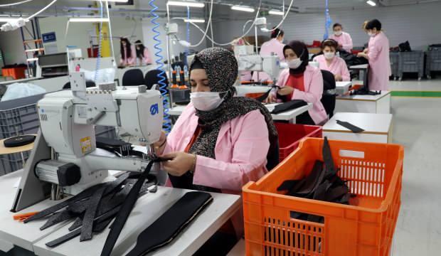 Dünya markası çantalar Amasya'da üretiliyor