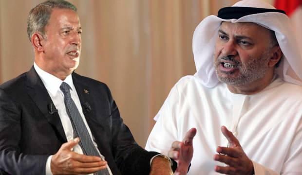 Türkiye'ye küstah cevap! Bakan Akar'ın sözleri BAE'nin zoruna gitti