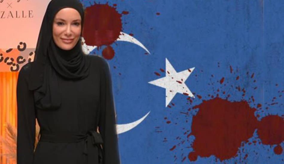 Gamze Zeynep Özçelik'ten Doğu Türkistan paylaşımı!