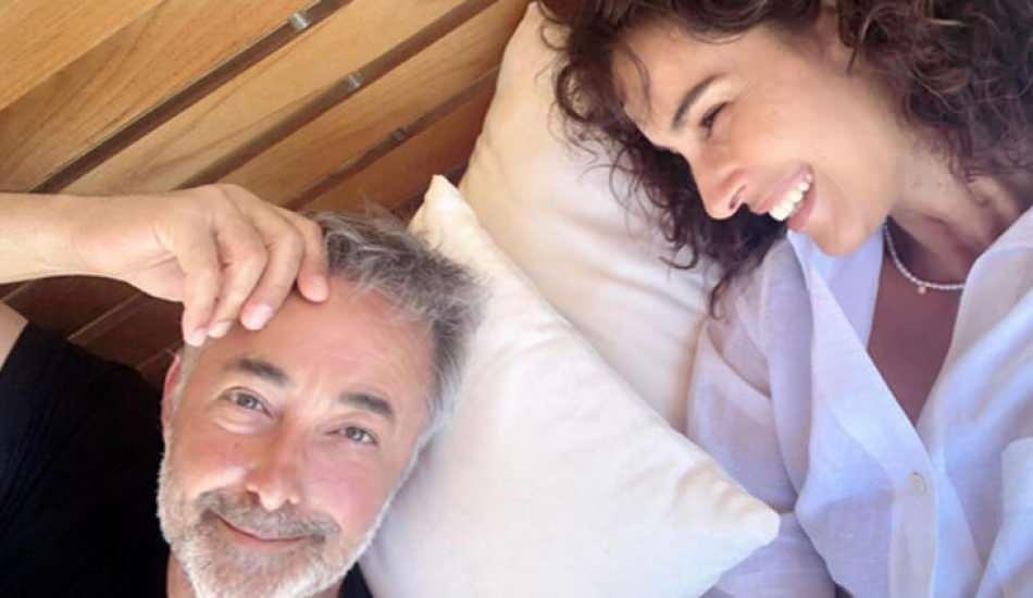 Mehmet Aslantuğ'dan romantik Arzum Onan paylaşımı!