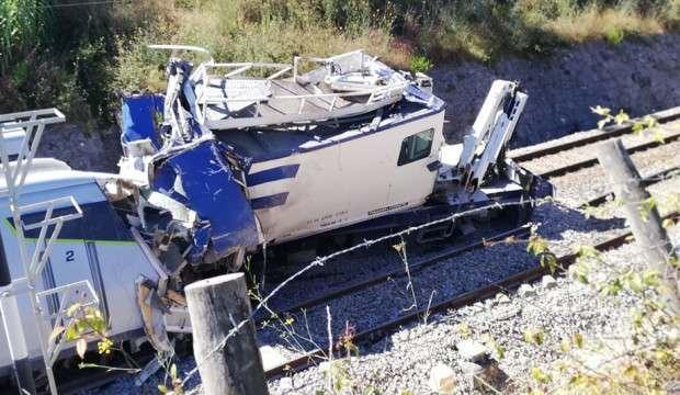 Portekiz'de hızlı tren raydan çıktı: 1 ölü, 50 yaralı