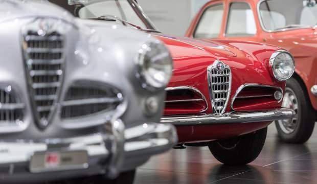 Alfa Romeo müzesi tekrar açıldı!