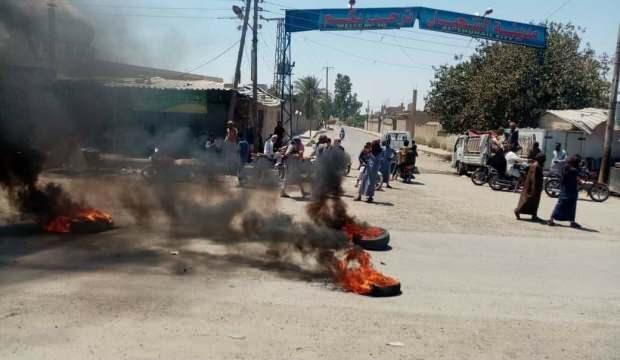 Aşiretler ve YPG/PKK'lı teröristler arasında çatışma