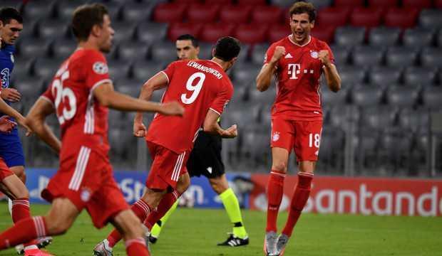 Bayern Münih Chelsea'ye acımadı! Gol şov...