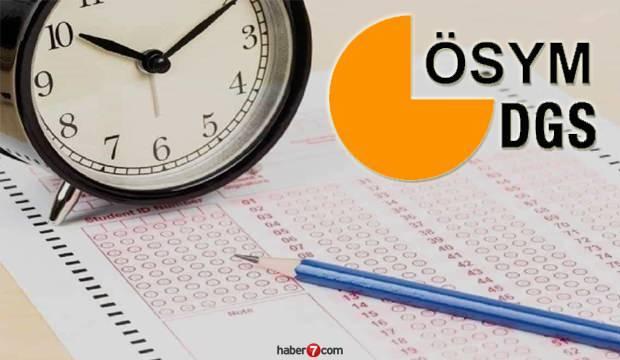2020 DGS sınav belgesi nasıl alınır? Dikey Geçiş Sınavı (DGS) saat kaçta başlayacak?