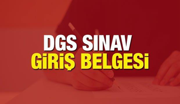 DGS sınav giriş belgesi sorgulama: DGS sınav giriş yeri öğrenme ÖSYM AİS!