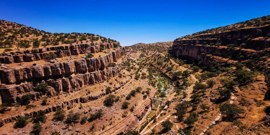 Girmana Kanyonu tarihi ve doğal güzellikleriyle dikkat çekiyor