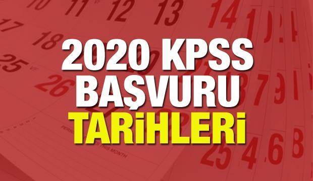 KPSS ön lisans ve ortaöğretim başvuruları ne zaman? 2020 KPSS başvuru tarihleri belli oldu!