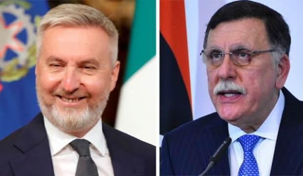 Libya Başbakanı Serrac, İtalya Savunma Bakanı Guerini ile görüştü