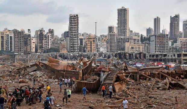 Lübnan'ın başkenti Beyrut'ta 2 hafta OHAL ilan edildi