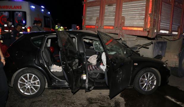 Manisa'da trafik kazası: 2'si ağır 5 yaralı