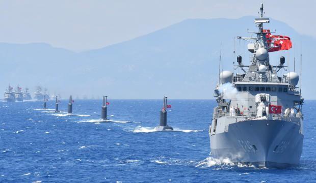Türkiye'den 'sahada' yanıt: Savaş gemileri Doğu Akdeniz'e iniyor