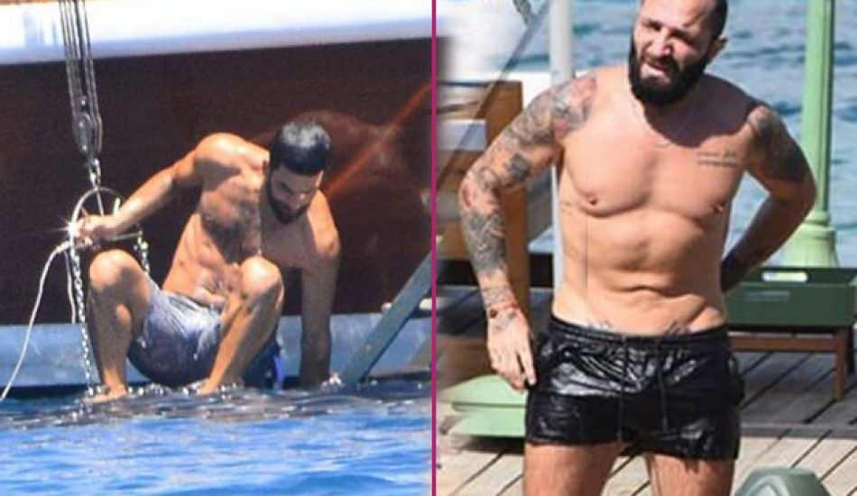 Arda Turan ve Berkay Şahin aynı otelde tatilde yapıyorlar!
