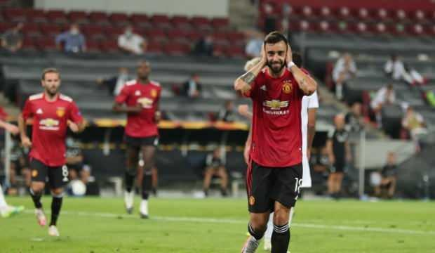 Avrupa Ligi'nde ManU'yu yarı finale Fernandes taşıdı