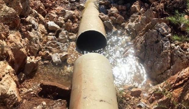 Bodrum'da yine aynı çile: Boru patladı, 36 saat su yok!