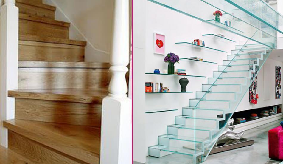 Dubleks daireler için en şık ve kullanışlı merdiven modelleri