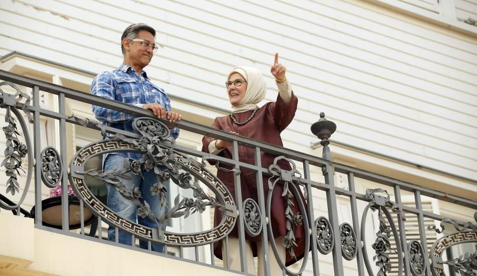 Emine Erdoğan Hint sinemasının ünlü aktörü Aamir Khan'ı ağırladı!