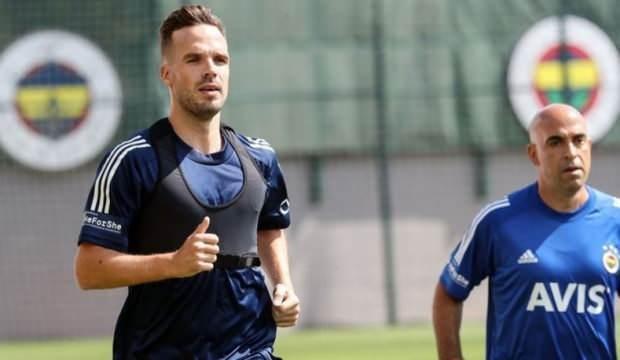 Fenerbahçe'de Zajc ve Novak, özel program dahilinde çalıştı