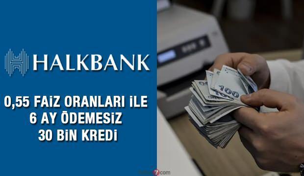 HalkBank 30 bin TL 6 ay ödemesi İhtiyaç Kredi veriyor! Düğün yapacakları sevindirecek!