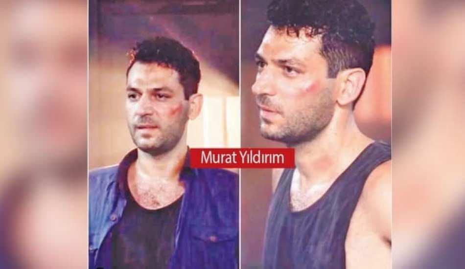 Ramo dizisinin çekimlerinde Murat Yıldırım'ın talihsiz kazası!