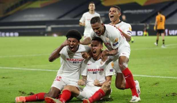 Sevilla son nefeste bileti kaptı