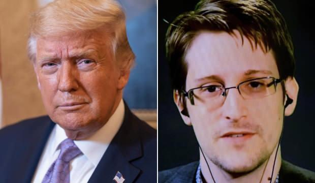 Trump'tan Edward Snowden'a affa yeşil ışık