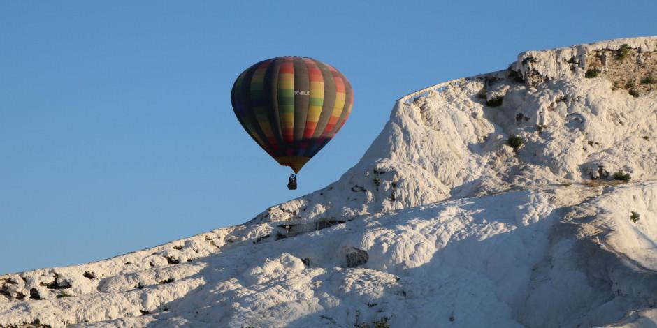 Beyaz cennette balonlar 162 gün sonra gökyüzüne kavuştu