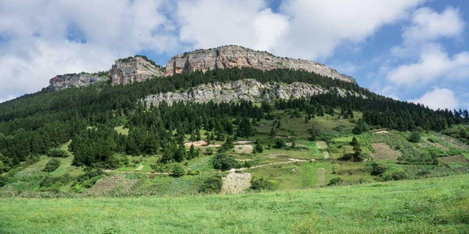 Dağcıların yeni gözdesi Şahinkaya'da ekopark
