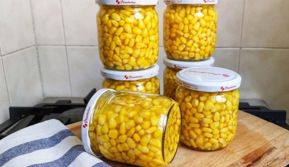 Haşlanmış mısır konservesi evde nasıl yapılır? En kolay mısır konserve tarifi