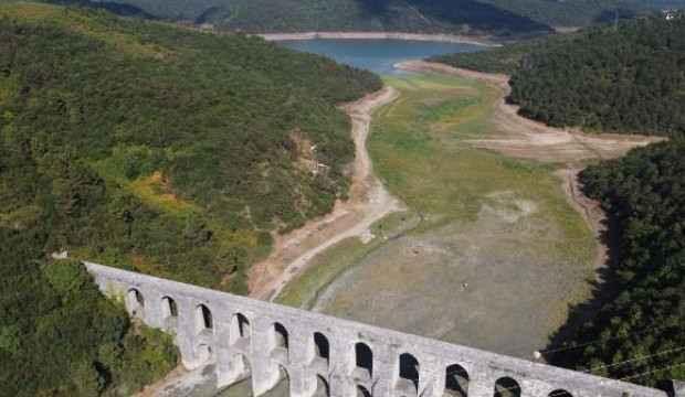 İstanbul barajlarında su azaldı