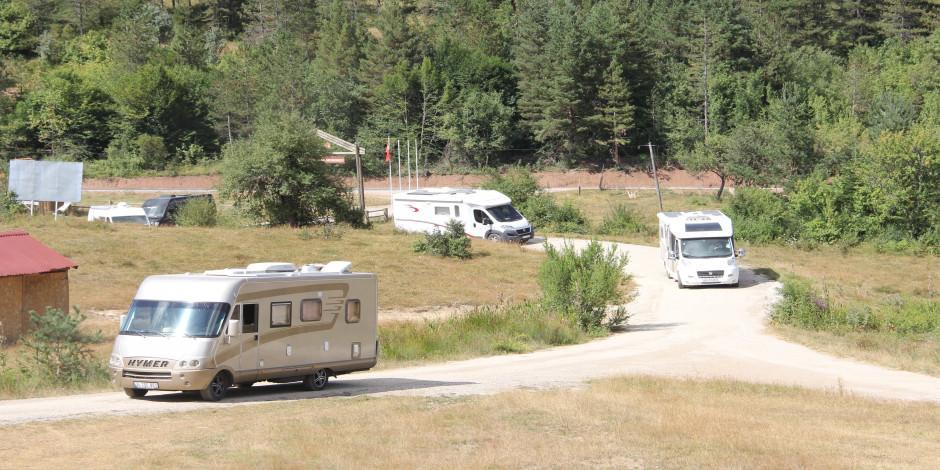 Kamp karavan turizminde ilgi Karadeniz'e yöneldi