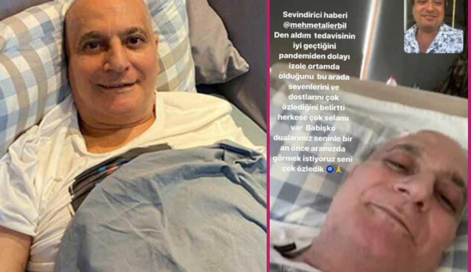 Kök hücre tedavisine başlayan Mehmet Ali Erbil'den haber var! Son sağlık durumu...